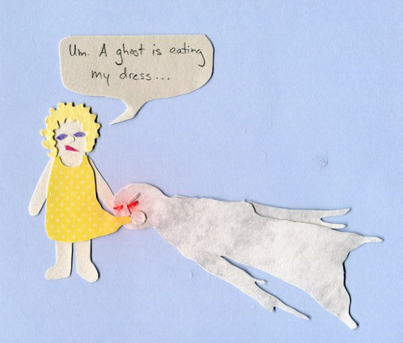 Dress-eating ghost infestation
