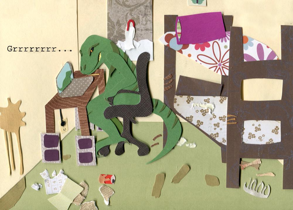 Dinosaur Roommate Forever
