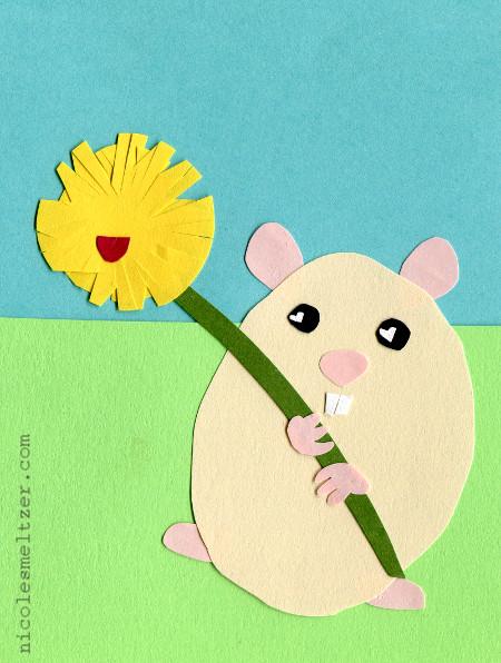 hamsterandflower