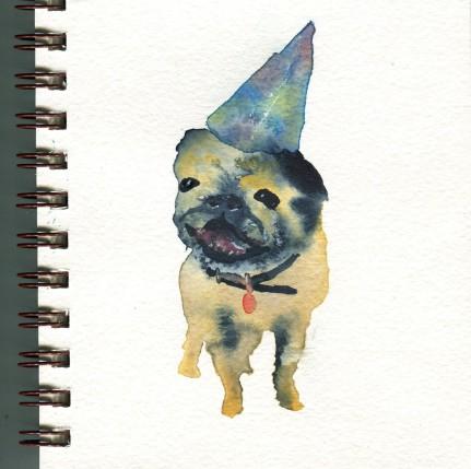 birthday pug
