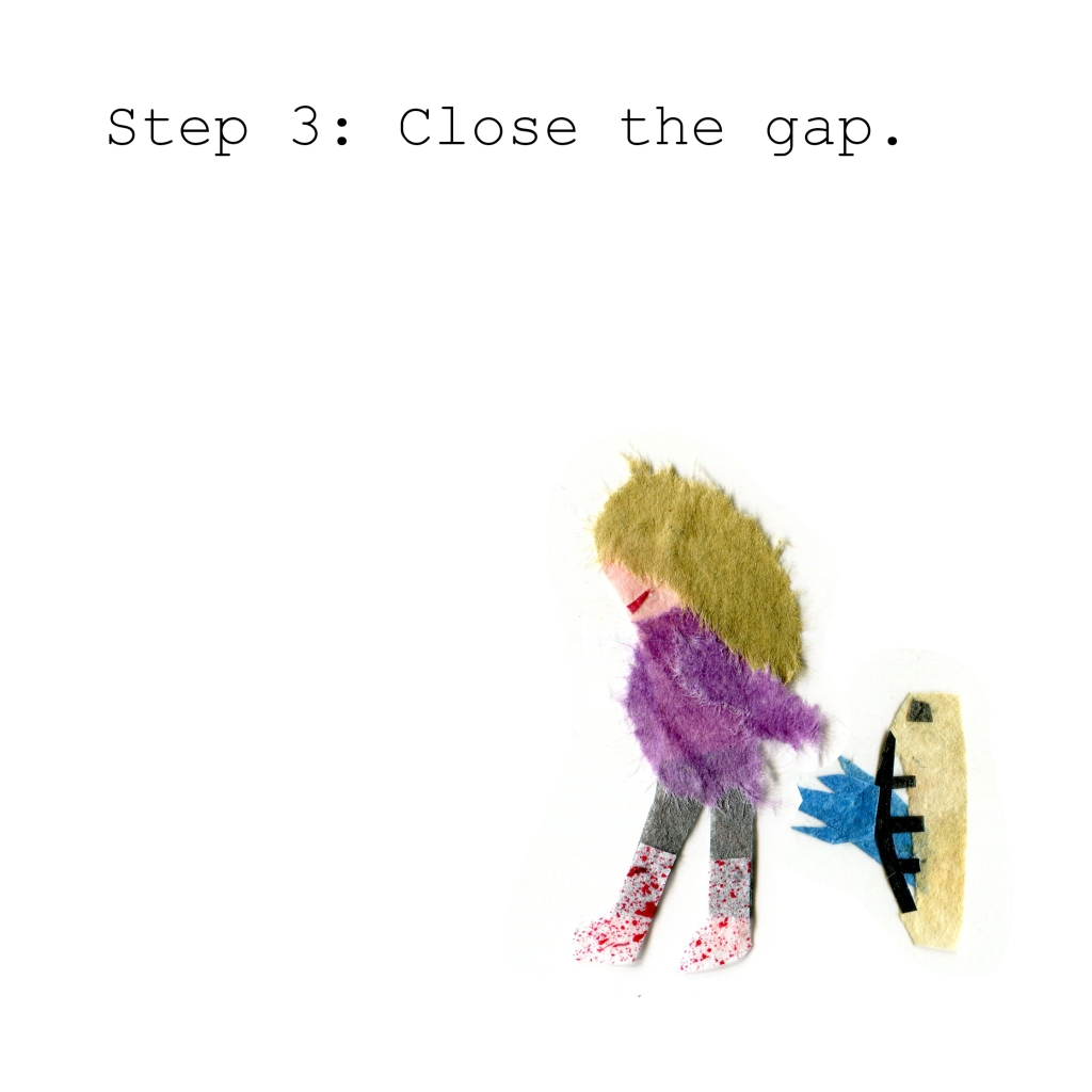Step 3: Close the gap.
